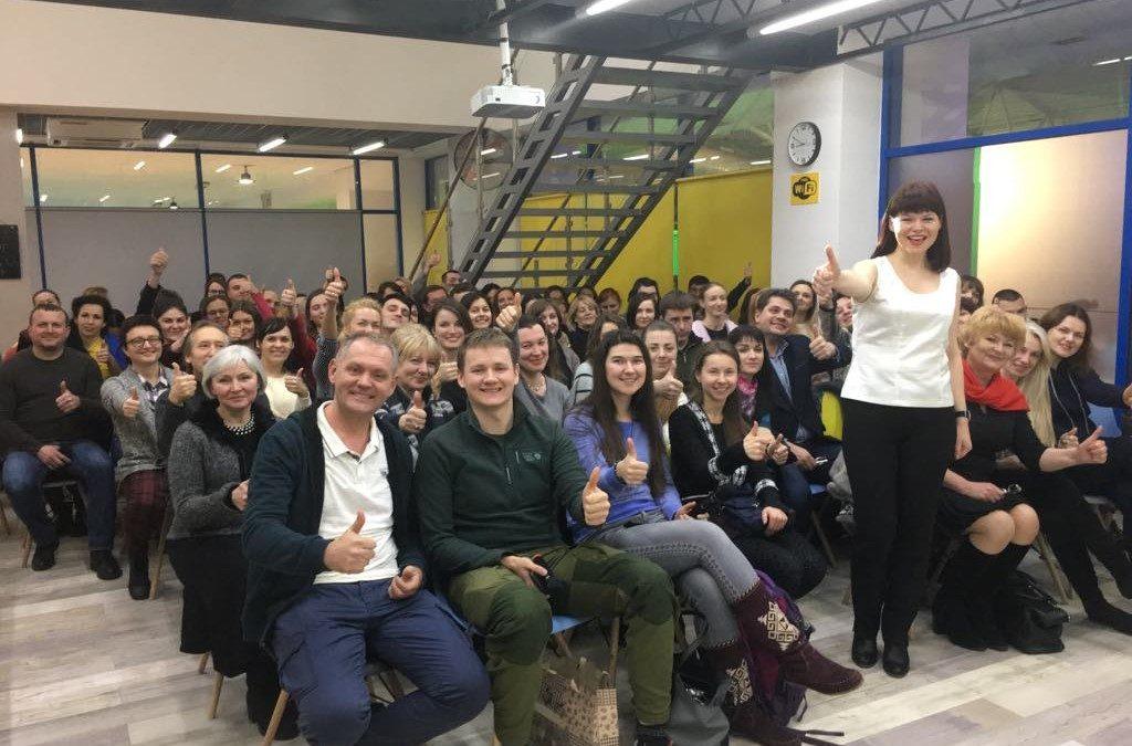 Зустріч на розповідь про мандрівку Японією 7.02.19 у Львові