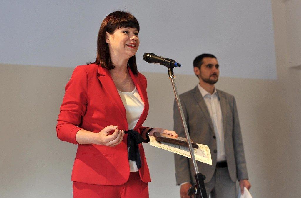 Людмила Калабуха отримала Спеціальну відзнаку Національної премії Media etc. 3.0, Київ